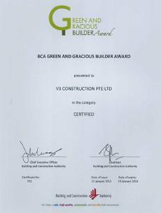 BCA Builder Licence - Jun 2018